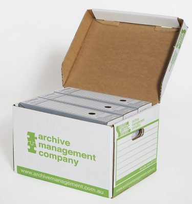 Archive Box with Small File Box